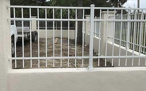 Aluminum Fence Design