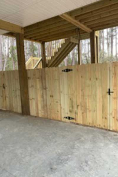 Wooden Fence Construction North Carilina