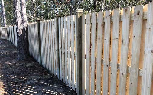 Wooden Fence North Carolina