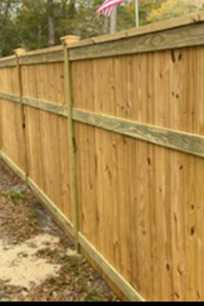 Wooden Safety Fence